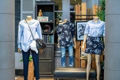 兆Bangna的,曼谷,泰国, 8月30日AE美国老鹰商店 免版税库存照片