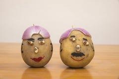 先生和potatoes夫人 免版税库存图片