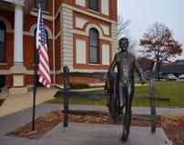 年轻先生 林肯 免版税库存照片