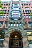 先驱大厦在西雅图,华盛顿 库存图片