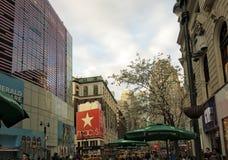 先驱广场 免版税库存照片