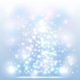 光亮的圣诞节背景 免版税库存图片
