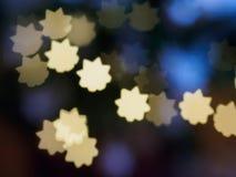 光亮的星` s明信片题材 免版税库存照片
