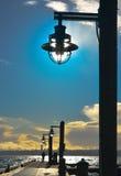光亮的灯 免版税库存图片
