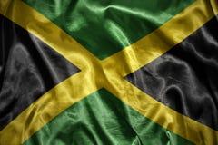 光亮的牙买加旗子 库存图片