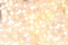 光和聚焦弄脏了欢乐和明亮 免版税库存照片