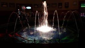 光喷泉  免版税库存图片