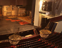 光在剧院 免版税库存照片