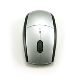 光学无绳的鼠标 免版税库存图片