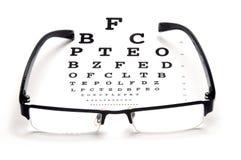 光学测试 免版税库存照片