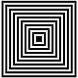 光学的幻觉 幻觉艺术 摘要扭转的黑白背景 也corel凹道例证向量 库存照片