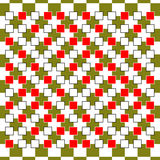 光学的幻觉 传染媒介3d艺术 行动动力效应 以形式执行的运动 几何不可思议的背景 免版税库存照片