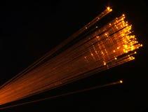 光学纤维 库存图片