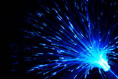光学纤维 免版税图库摄影