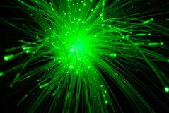 光学纤维 免版税库存图片