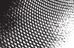 光学艺术背景黑白传染媒介 免版税库存照片