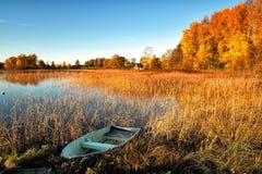 光彩的秋天早晨 免版税图库摄影