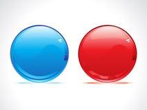 光滑抽象的球 免版税库存照片