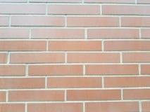 光滑的砖墙 免版税库存图片