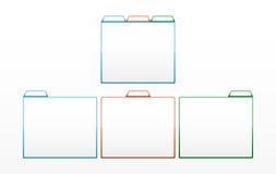 光滑的颜色模板 免版税库存照片