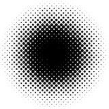 光点图形向量 免版税库存照片