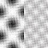 光点图形无缝的向量 库存例证