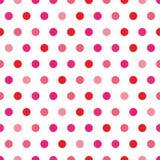 光点图形粉红色短上衣 图库摄影