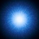 光爆炸 向量例证