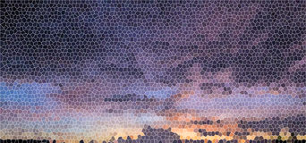 光的彩色玻璃背景紫色 免版税库存图片
