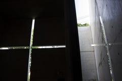 光的教会 库存图片
