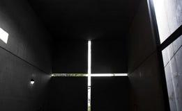 光的教会 免版税库存图片