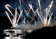 2016年光的本田庆祝在温哥华,加拿大 免版税库存照片