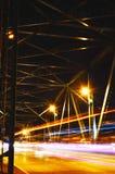光的看法在桥梁的 图库摄影
