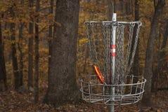 光盘高尔夫球 库存照片