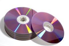 光盘dvd s 免版税库存图片
