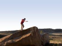 光盘folf高尔夫球 免版税库存图片