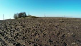 光秃的土壤春天自然 影视素材