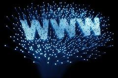 光纤万维网 库存例证