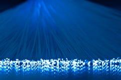光纤抽象背景 免版税库存照片