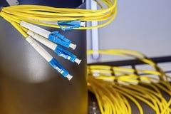 光纤插座 库存图片