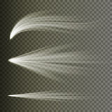 光线影响传染媒介 光芒爆炸光 隔绝在透明背景 也corel凹道例证向量 库存例证