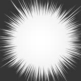 光线 爆炸传染媒介例证 太阳光芒或星爆炸元素 向量例证