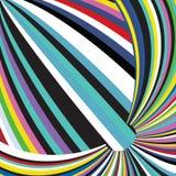 光谱五颜六色的抽象彩虹圈子地球条纹Backgroun 向量例证