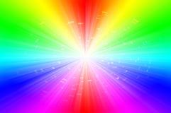 光谱抽象背景 免版税库存图片