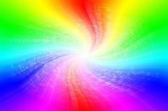光谱抽象背景 库存图片