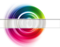 光谱的范围 免版税库存图片
