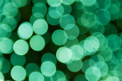 光鲜绿色的气球  库存照片