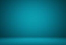 光滑深蓝与作为backgrou的黑小插图演播室井用途 免版税库存图片