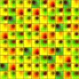 光滑的五颜六色的马赛克正方形细胞栅格 免版税库存图片