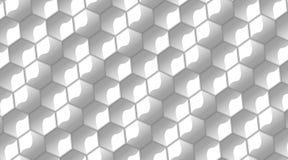 光滑的六角形 库存图片